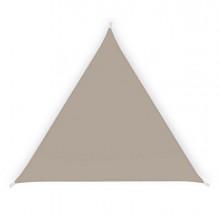 Tenda a vela ombreggiante triangolare 3,6m tortora