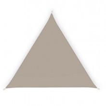 Tenda a vela ombreggiante triangolare 5m tortora