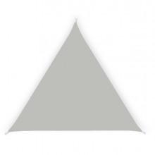 Tenda a vela ombreggiante triangolare 5m cenere