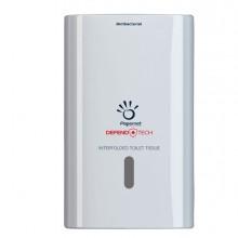 Dispenser Antibatterico Defend tech Carta Igienica Interfogliata