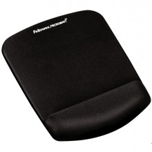 Mousepad con poggiapolsi in FoamFusion Microban PlusTouch nero Fellowes