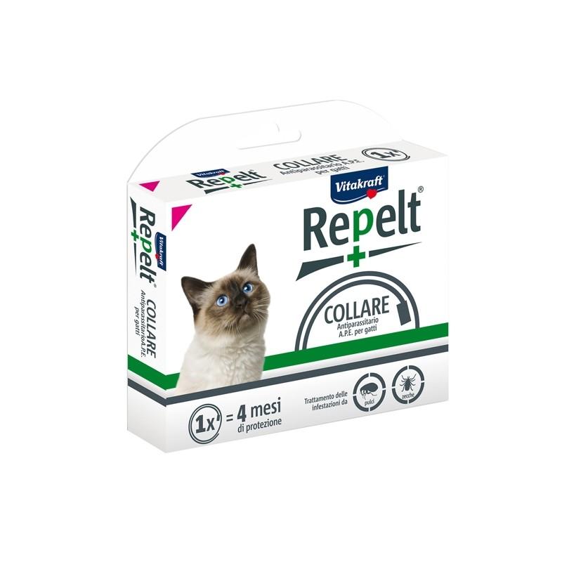 Collare antiparassitario per gatti con peso superiore a 1kg - Repelt