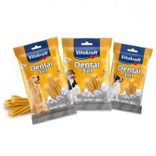 Confezione da 7 Snacks Dental 3in1 - misura XS (cani 5kg) F.to 70gr