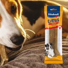 Masticativi Chews - osso per cani 100 pelle di bovino 14cm