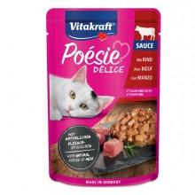 Poèsie DèliSauce per gatti gusto manzo 85 gr