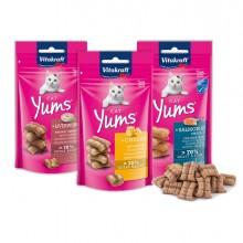 Snacks Cat Yum per gatti gusto formaggio 40gr