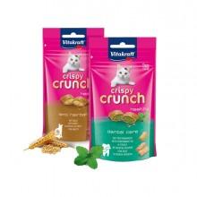 Snacks Crispy Crunch con ripieno di olio di menta piperita 60gr