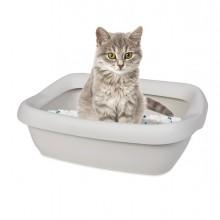 Toilette con cornice grande per gatti