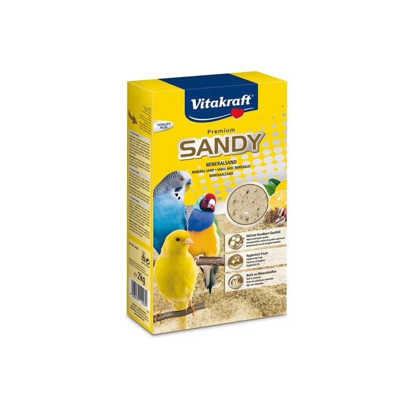 Sandy sabbia per uccellini 2,5kg