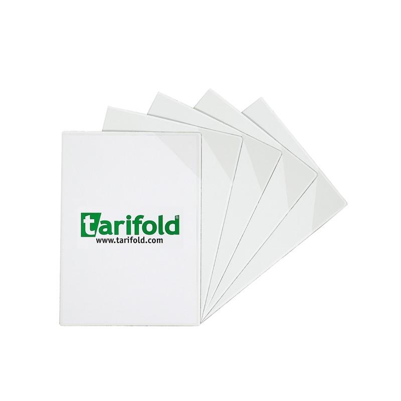 Confezione 5 tasche a L con retro magnetico f.to A4 trasparenti Tarifold