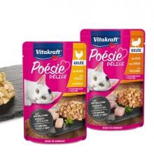 Poèsie© DèliGelee per gatti gusto pollo 85 gr