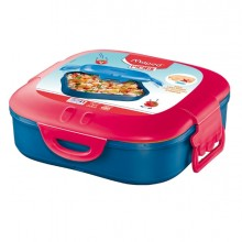 Lunch Box 1 scompartimento rosa corallo Picnik Concept Maped