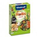 Snacks Rollis party per roditori 500gr