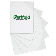 Conf 5 tasche a L con retro magnetico f.to A5 trasparente Tarifold