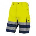 Bermuda da lavoro alta visibilità PHBE2 panostyle Tg. XL giallo fluo