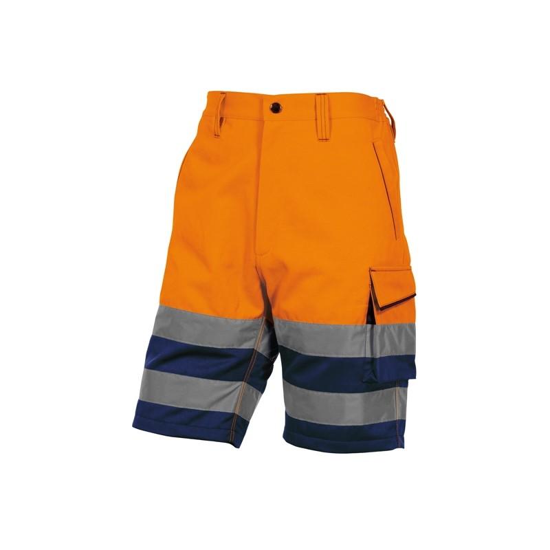 Bermuda da lavoro alta visibilità PHBE2 panostyle Tg. L arancio fluo