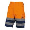 Bermuda da lavoro alta visibilità PHBE2 panostyle Tg. XL arancio fluo