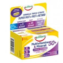 Integrator MultivitamineMinerali 50+ Compresse TriploStrato 30x1,4gr Equilibra