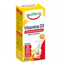 Integratore Vitamina D3 Sistema Immunitario OssaMuscoli Spray 13ml Equilibra
