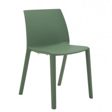 Seduta attesa Dory S verde senza BRACCIOLI