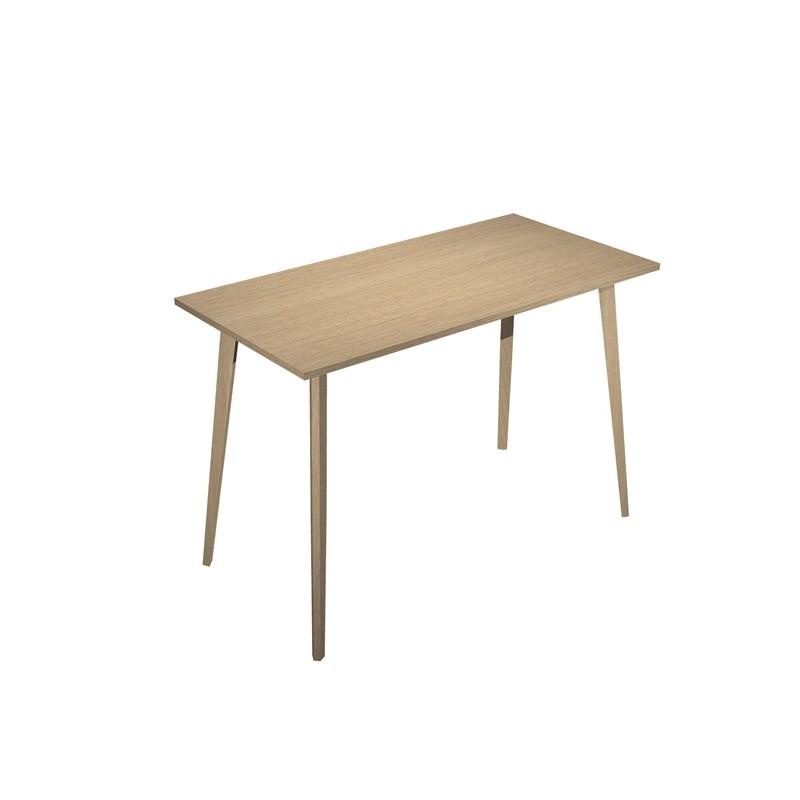 Tavolo alto 160x80xH105cm Rovere/Rovere Woody