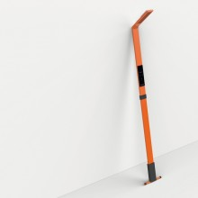 Lampada in metallo LUCTRA FLEX portatile 680lm arancione