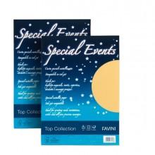 Carta Metallizzata Special Events A4 10Fg 250Gr Bianco Favini