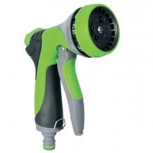 Pistola a doccia per irrigazione in alluminio 7 getti