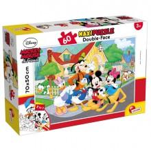 "Puzzle Maxi 60pz ""Disney Mickey"" Lisciani"