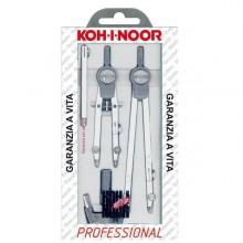 Compasso Professional 155Mm 5Pz Kohinoor