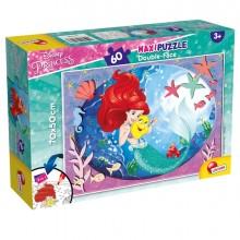 "Puzzle Maxi 60pz ""Disney Little Mermaid"" Lisciani"