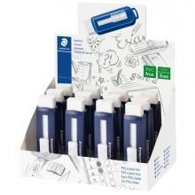 Gomma a scorrimento Staedtler® eraser involucro blu (Conf. 12)