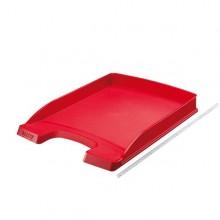 Vaschetta portacorrispondenza SLIM PLUS rosso LEITZ (conf. 10 )
