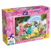 "Puzzle Maxi 108pz ""Princess Rainbow World"" Lisciani"