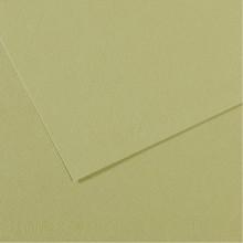 Foglio MI-TEINTES A4 160 gr. 480 verde mandorla (Conf. 25)