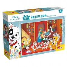 "Puzzle Maxi 24pz ""Disney Carica 101"" Lisciani"