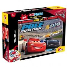 """Puzzle Maxi 60pz """"Disney Cars 3 Challenge"""" Lisciani"""