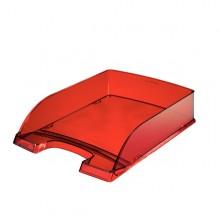 Vaschetta portacorrispondenza STANDARD PLUS rosso trasp. LEITZ (conf. 5 )