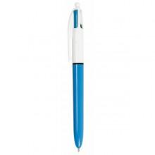 Scatola 12 Penna Sfera Scatto 4 Colori Bic