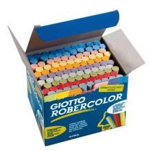 Scatola 100 Gessetti Tondi Colorati Giotto