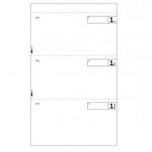 BLOCCO COMANDE A 3 TAGLIANDI 25/25 FOGLI AUTORIC. 17X9,9 E5917 (conf. 20 )