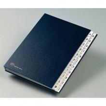 Monitore A/Z Fraschini Formato 24X34Cm Blu Art. 640-D