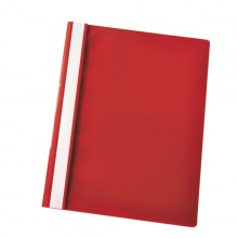Cartellina Ppl Con Fermafogli 21X29,7 Rosso Report File Esselte (conf.25)