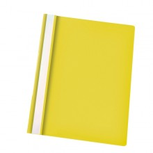 CARTELLINA PPL CON FERMAFOGLI 21X29,7 GIALLO REPORT FILE ESSELTE (conf. 25 )