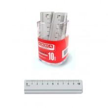 Barattolo 15 Righelli Alluminio 10Cm Arda