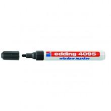 Marcatore Edding 4095 Punta Conica Gesso Liquido Nero