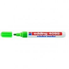 Marcatore Edding 4095 Punta Conica Gesso Liquido Verde