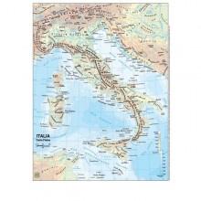 Carta Geografica Scolastica Plastificata Italia 297X420Mm Belletti (conf.20)