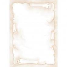 "Carta Con Stampa ""Pergamena"" Avorio A4 90Gr 20Fg Decadry"