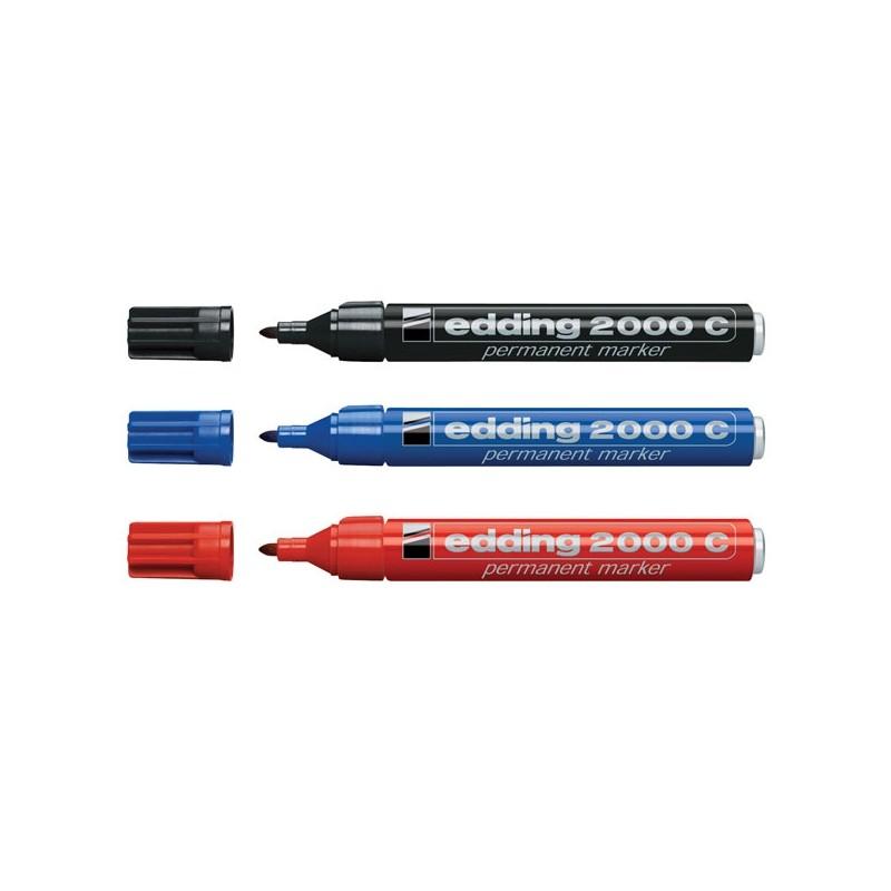 Marcatore Edding 2200C Nero P.Scalpello (conf.10)